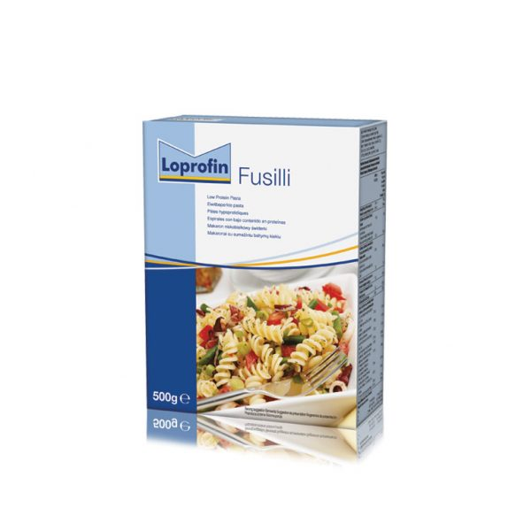 Loprofin Fussilli Box Pasta PKU | Nutricia