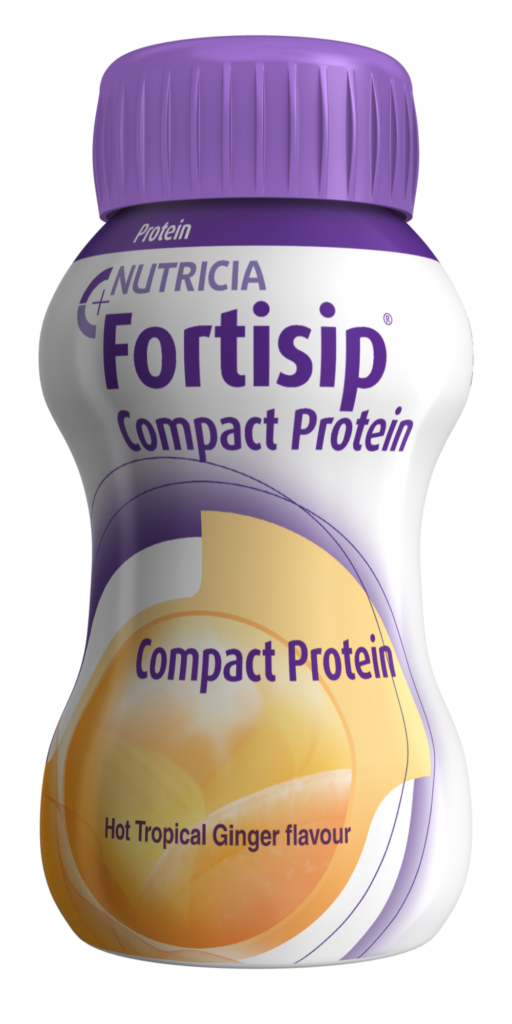 Fortisip Compact Protein Hot Tropical Ginger | Nutricia Adult Healthcare