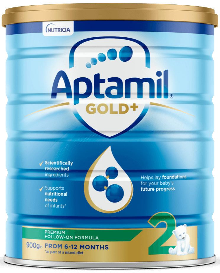 Aptamil Gold +, Follow-On Formula, From 6 To 12 Months, 900g