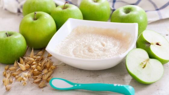 oats apples prebiotics help baby immune system | AptaNutrition