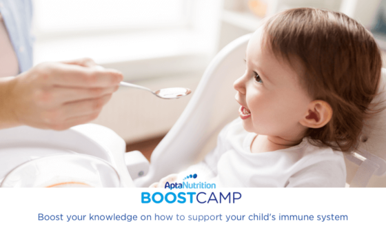 Best foods for your child's immune system development | AptaNutrition Parents' Corner | Boost Camp