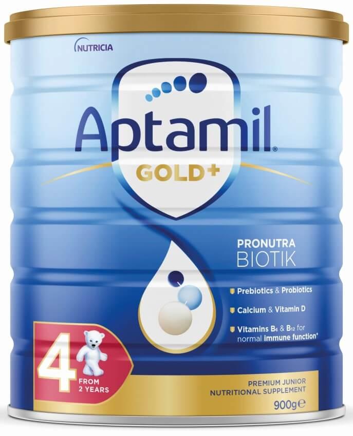 Aptamil - Gold Plus Pronutra Biotik Junior Milk (Stage 4) - Packshot