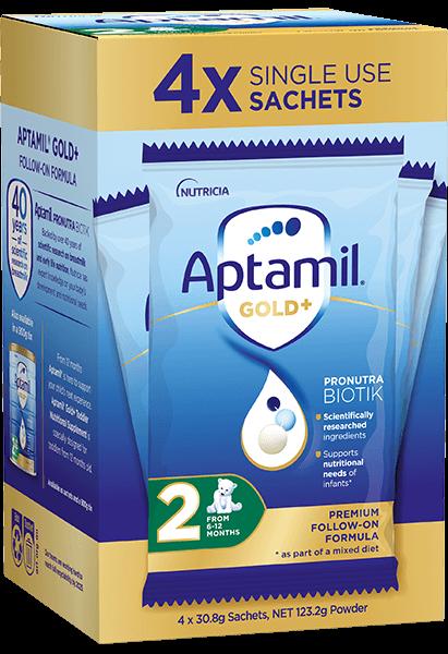 Aptamil Pronutra Gold Plus Carton Render Stage 2