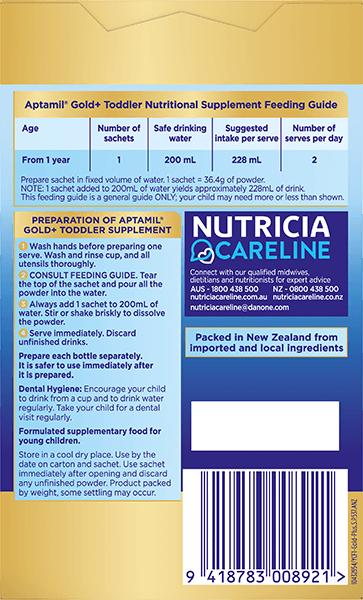 Aptamil Pronutra Gold Plus Carton Render Stage 3 Back
