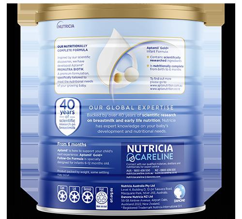 Aptamil - Gold Plus Pronutra Biotik Infant Formula - Stage 1 - Packshot