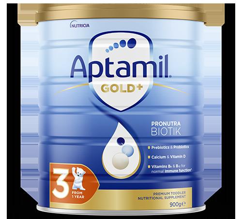 Aptamil Pronutura Gold Plus Stage 3 Render FOP