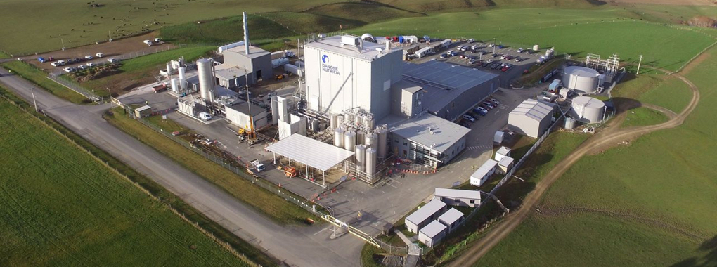 Factory viewed from the sky