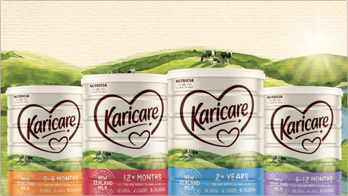 Karicare core products range