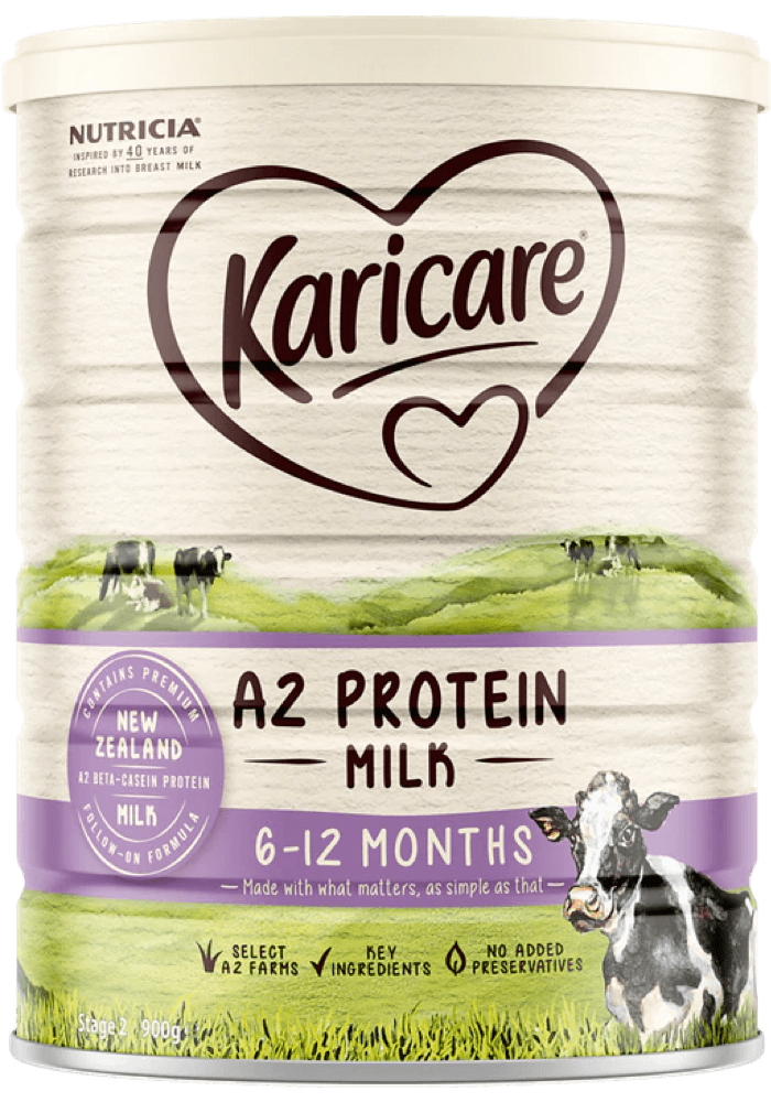 Karicare, A2 Protein Milk Follow-on Formula, From 6 to 12 Months, 900g