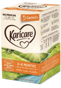 Karicare, Infant Formula Sachets, From 0 to 6 Months