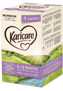 Karicare, Follow-On Formula Sachets, From 6 to 12 Months