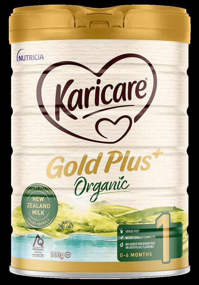 Karicare Gold Plus Organic Stage 1 New Zealand Milk