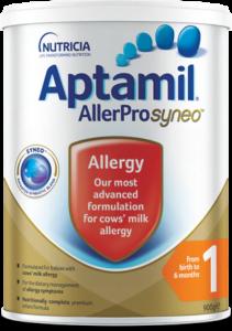 Aptamil® AllerPro Syneo™ - From Birth to 6 Months | Paediatrics Healthcare