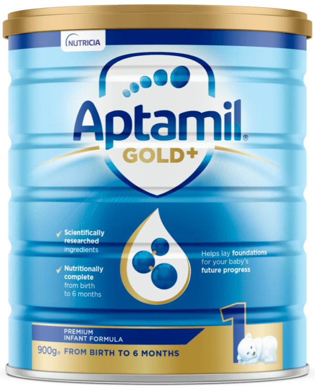 Aptamil Gold+ Infant Formula | Paediatrics Healthcare | Nutricia