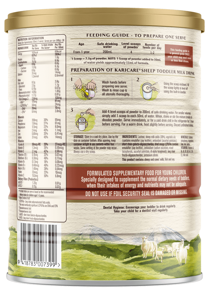 Karicare Toddler Sheep Milk Drink - From 12+ Months - 2 | Paediatrics