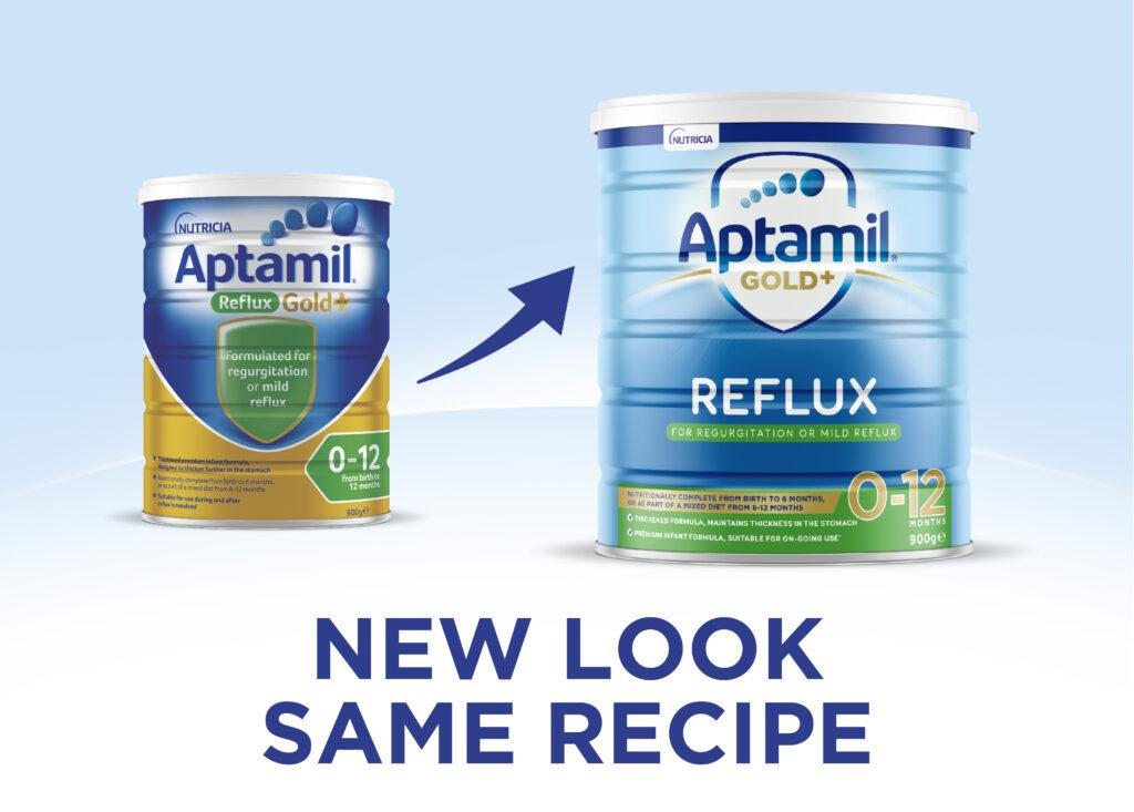 Aptamil Reflux new look