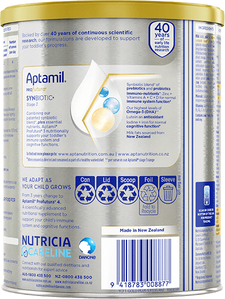 Aptamil, Profutura Protein Toddler Nutritional Supplement, From 1 year, 900g