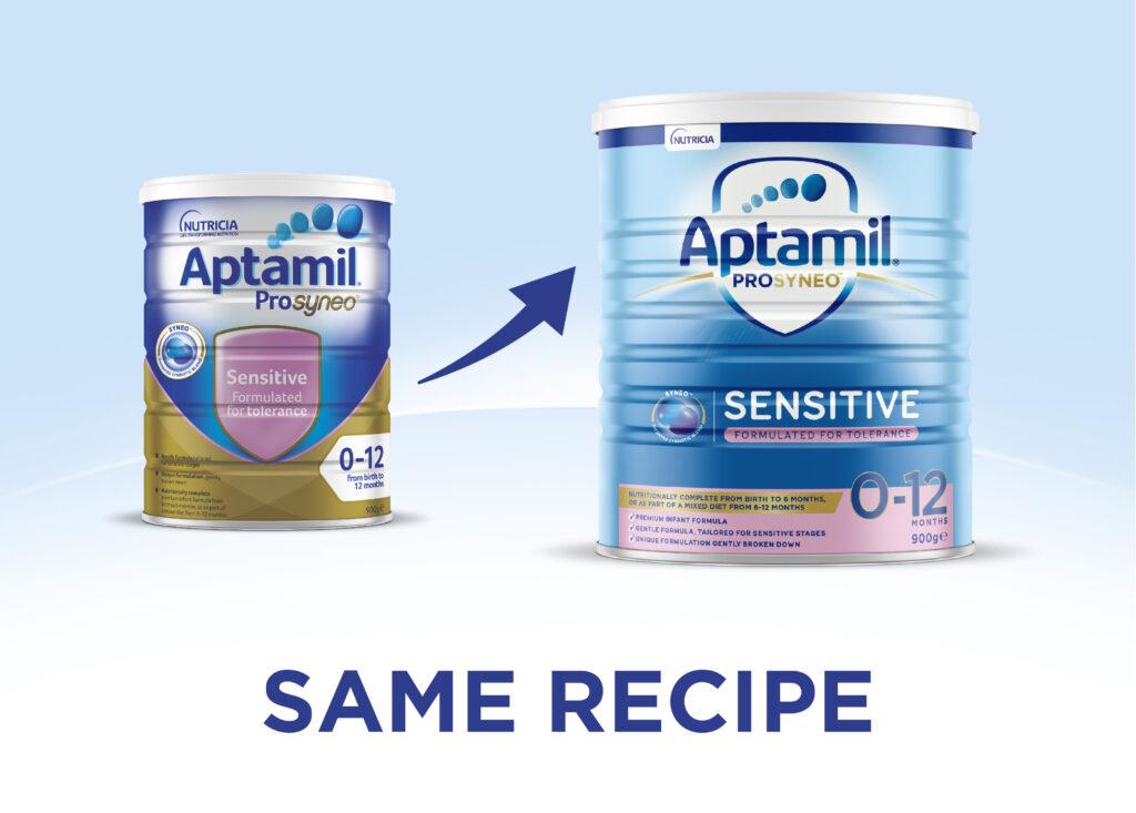 aptamil prosyneo sensitive new look