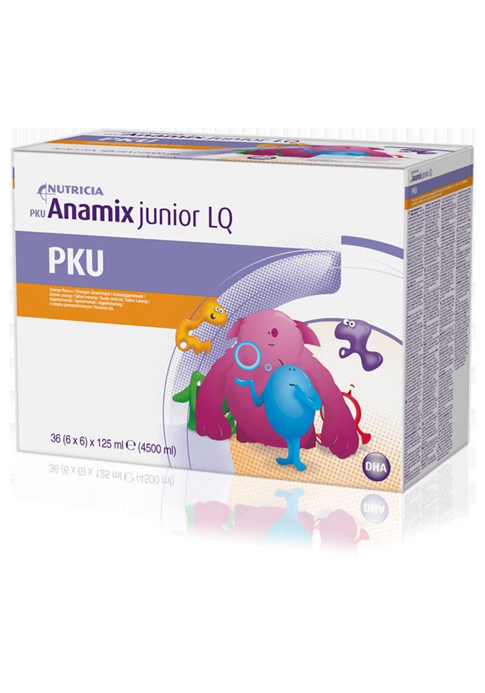 PKU Anamix Junior LQ Orange Box   Paediatrics Healthcare   Nutricia