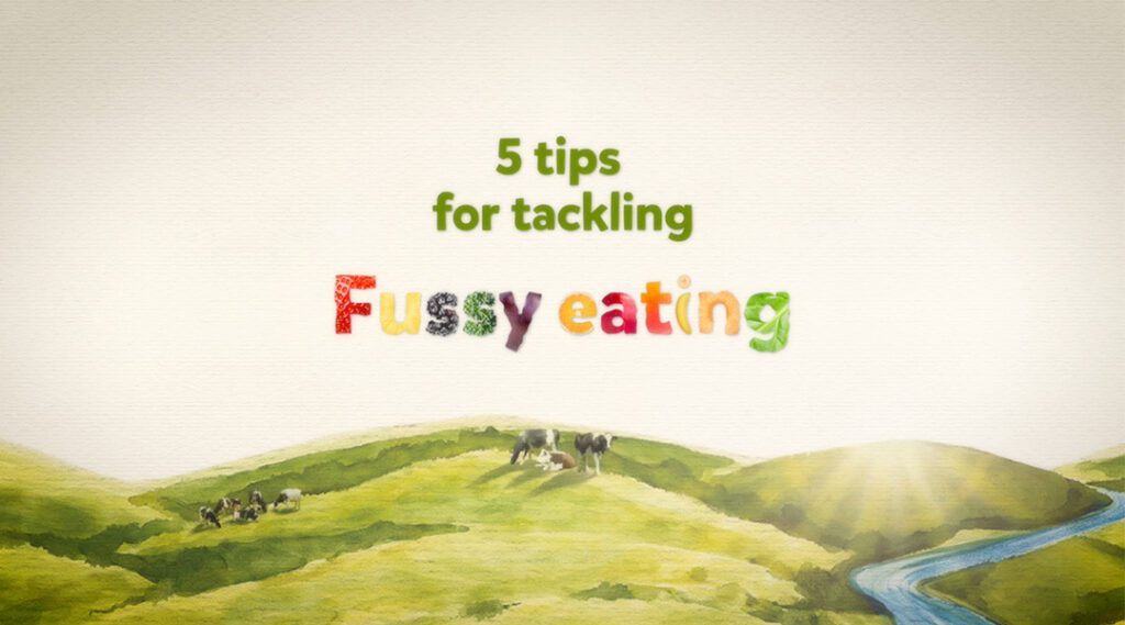 5 tips for tackling fussy eating