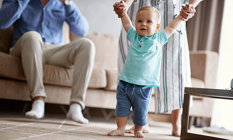 5 things you need to know when your toddler starts walking